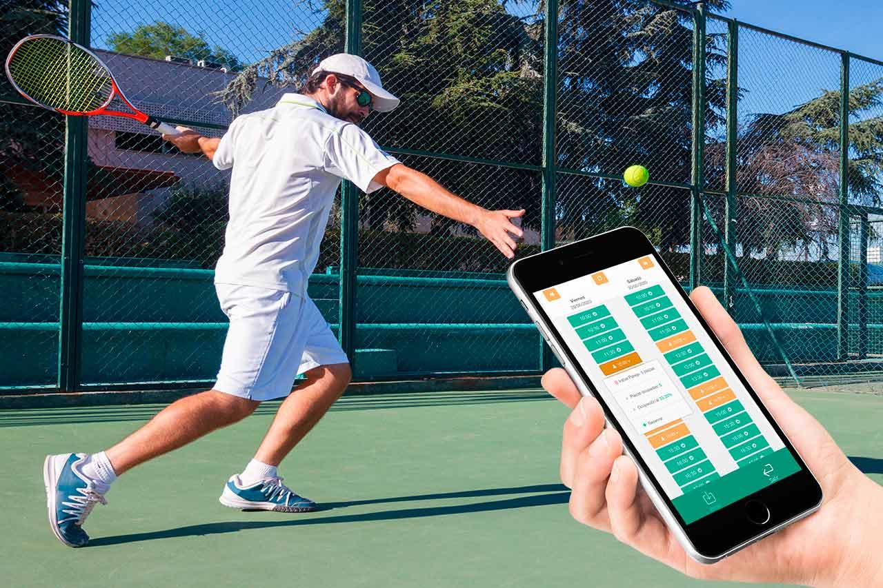 App para turnos en pistas comunitarias