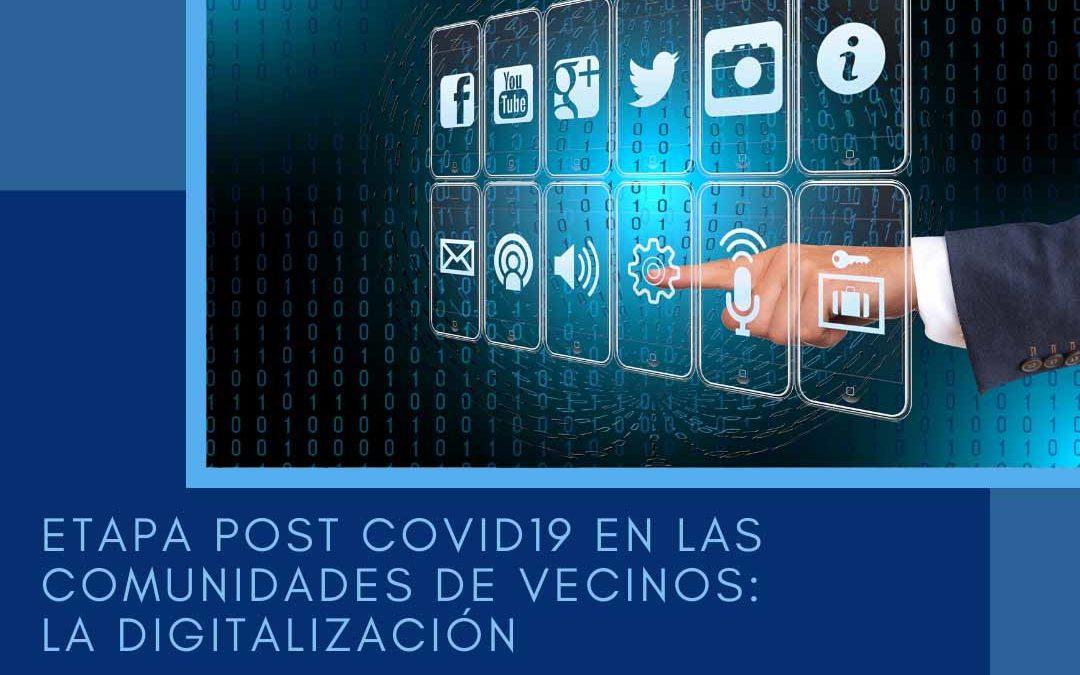 Etapa post covid19 en las comunidades de vecinos: la digitalización
